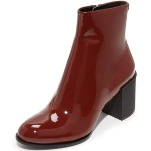 DKNY Patent Leather Boots